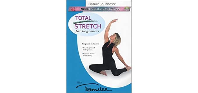 Beginners Total Stretch - Beginner Senior Stretching DVD