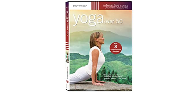 Yoga Over 50 Workout Videao - Over 50 Yoga DVD for Seniors