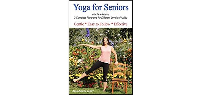 Yoga for Seniors Jane Adams - Yoga DVD for Seniors