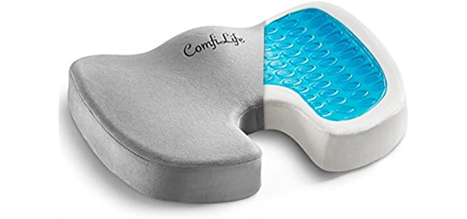 ComfiLife Gel Enhanced - Recliner Pressure Relief Cushion