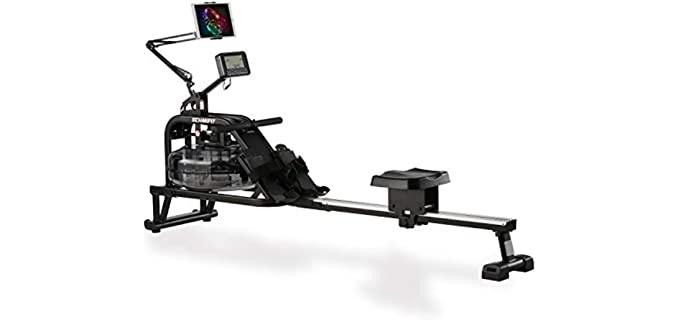 Echanfit water Rowing Machine - Rower for Seniors