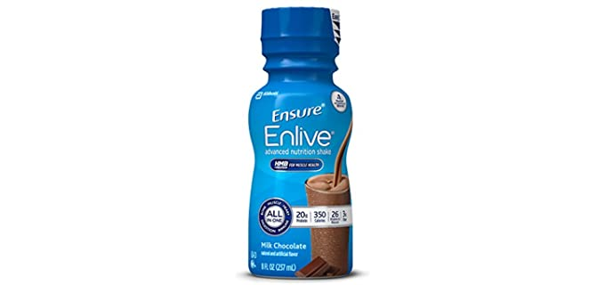 Ensure Enlive Advanced - High Protein Nutritional Shake  for Seniors