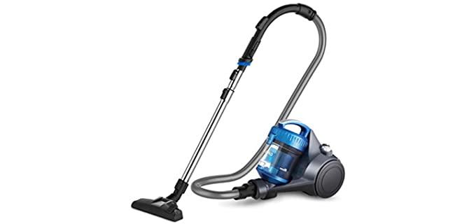 Eureka WhirlWind - Lightweight Bagless Cannister Vacuum for Seniors