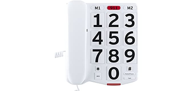 Home Intuition Amplified - Landline Phone for Seniors