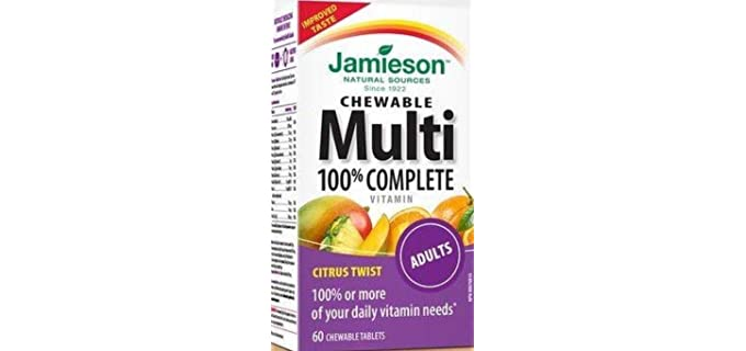 Jamieson 100% - Complete Chewable Vitamin for Seniors