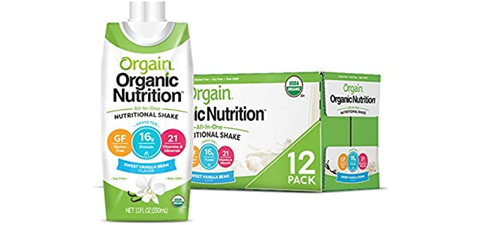 Orgrain Organic - Nutritional Drink for Seniors