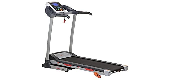 Sunny Health Folding - Treadmill for Seniors