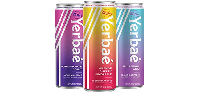 Yerbae Sparkling Water - Energy Drink for Seniors