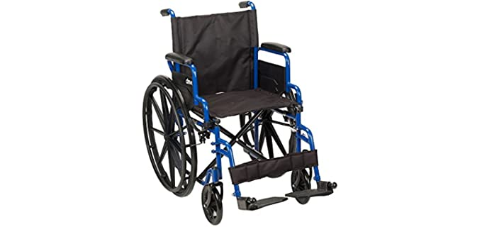 Drive Medical Blue Streak - Wheelchair for Seniors