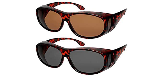 Fit Over Polarized - Sunglasses for Seniors