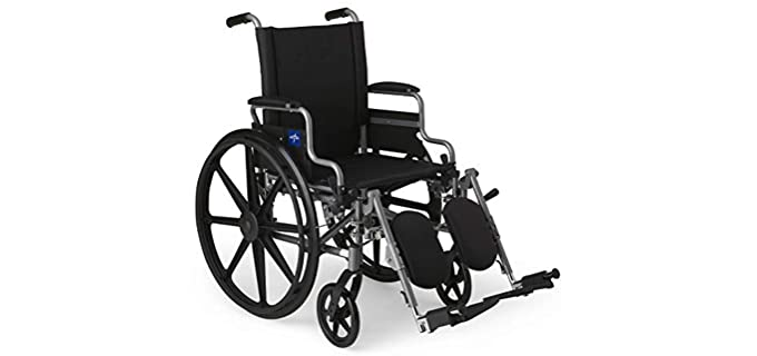 Medline MDS806550E - Wheelchair for Seniors