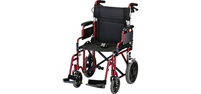 NOVA Medical - Lightweight Wheelchair for Seniors