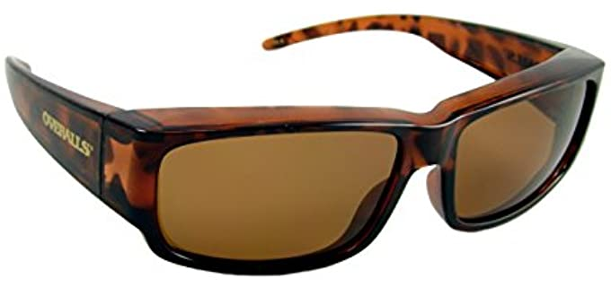 Overalls Polarized - Fit Over Sunglasses for Seniors