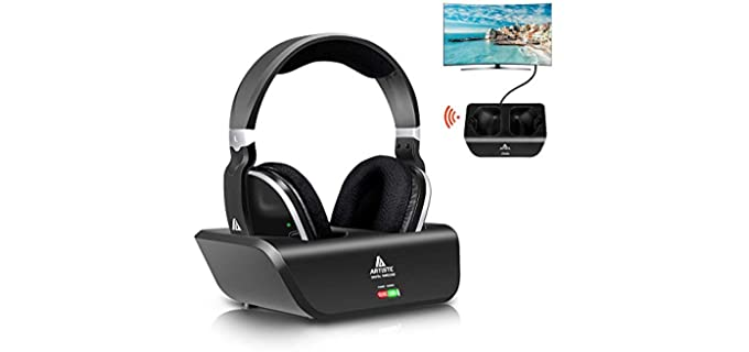 Monodeal Wireless - Rechargeable TV Headphone for Seniors