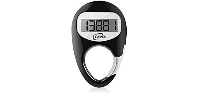 iGANK Simple - Walking Pedometer for Seniors
