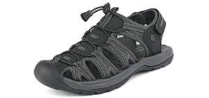 Dream Pairs Men's Adventurous - Walking Sandal for Seniors