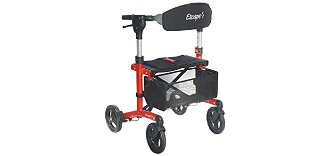 Escape Rollator - Walker for Narrow Spaces