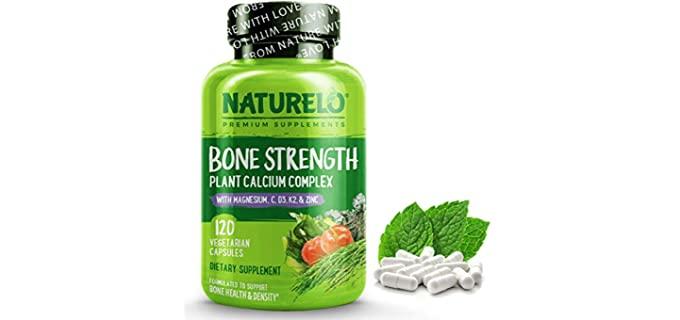 Naturelo Plant Based - Calcium For Seniors