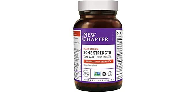 New CHapter Bone Strength - Calcium For Seniors