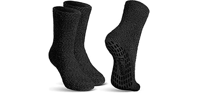 Pembrook Non-Skid - Non-Slip Socks for Elderly