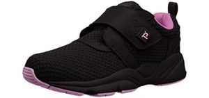 Propet Women's Stability X Strap - Velcro Shoes for Seniors