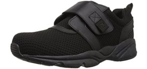 Propet Men's Stability X Strap - Velcro Shoes for Seniors