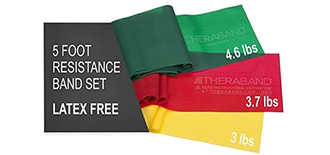 TheraBand Resistance Set - Resistance Band for Older Adults
