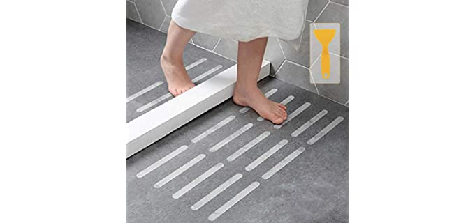Kyerivs Tread Stickers - Shower Floor Safety Strips