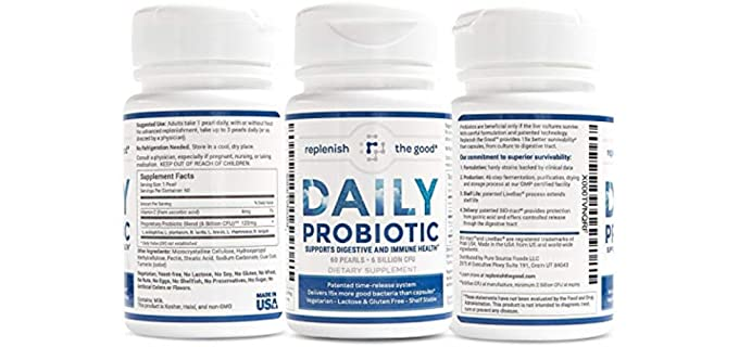 Replenish The Good Daily - Probiotic for the Seniors