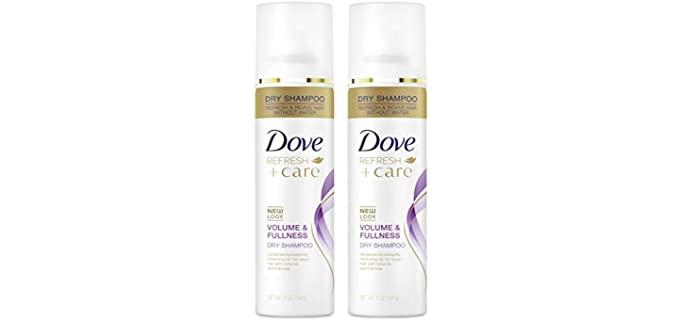 Dove Dry Shampoo - Elderly Person's No Rinse Shampoo