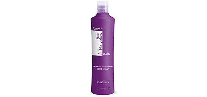 Fanola Silver - Shampoo for Grey and White Hair in Seniors