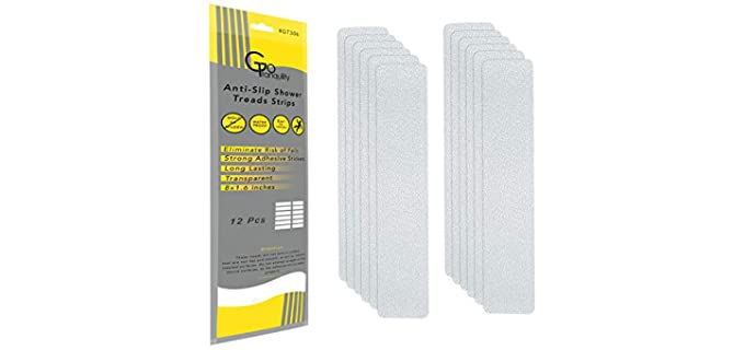 GoTranquility Anti-Slip - Shower Floor Safety Strips