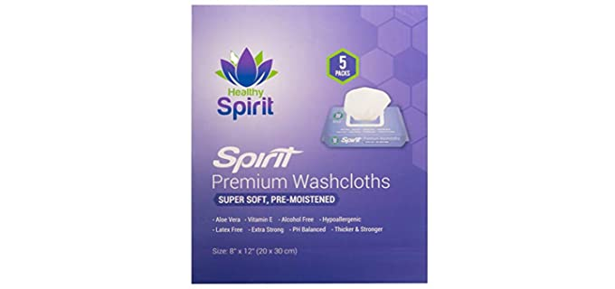Healthy Spirit Disposable - Elderly Person's Bathing Wipes