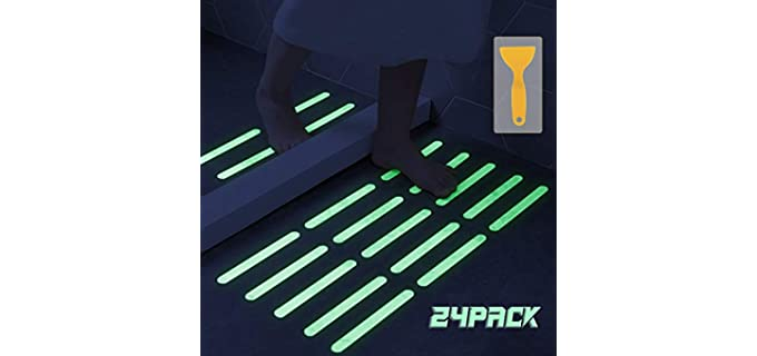 Kyerivs Stcikers - Shower Floor Safety Strips