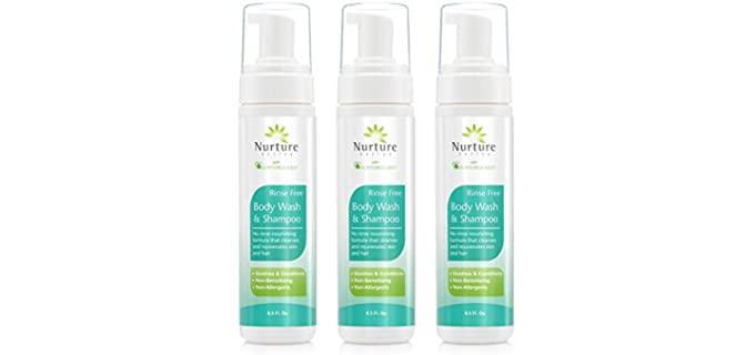 Nurture Valley No Rinse - No Rinse Shampoo for the Elderly