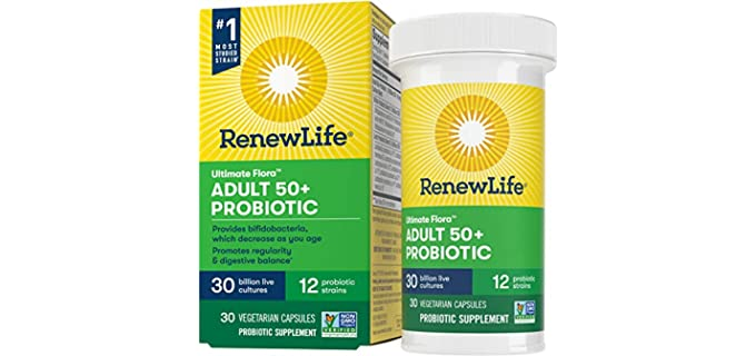 Renew Life Ultimate - Senior's Probiotic
