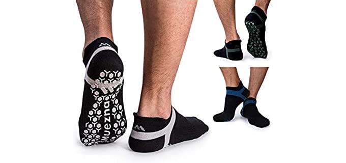Muezena Anti-Skid - Non-Slip Socks for Elderly