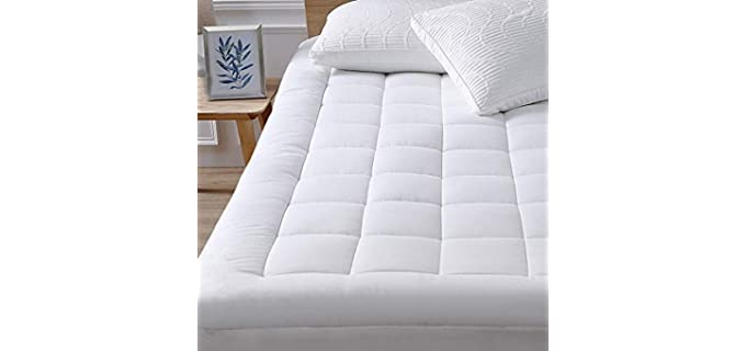 Oaskys Queen Size - Mattress Topper for Elderly Persons