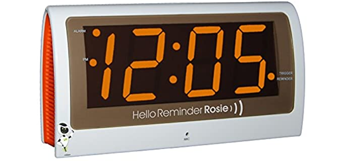 Reminder Rosie personalized - Talking Clock for Seniors