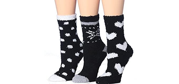 Tipo Toe Cozy - Non-Slip Socks for Seniors