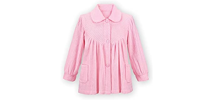Collections Fleece - Bed Jacket for the Elderly