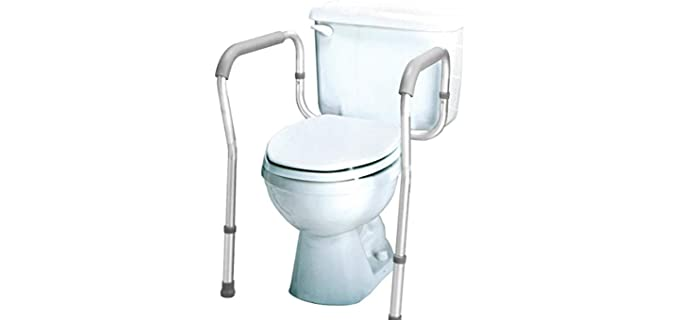 Carex Safety Frame - Toilet Grab Bar for the Elderly