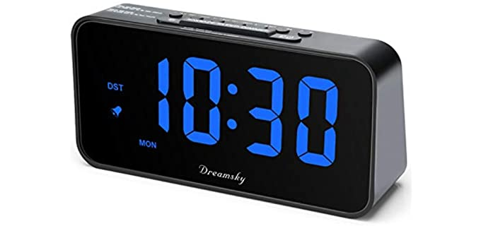 DreamSky Digital - Alarm Clock for Senior Individuals