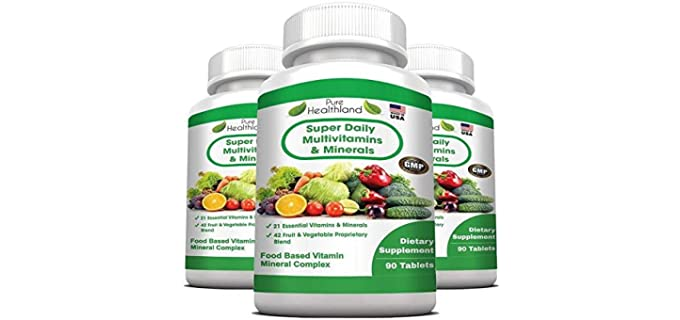 Pure Healthland Daily - Food Based Multivitamin for a Senior