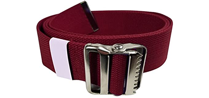 LiftAid Therapist - Walking Gait Belt for Seniors for Lift and Transfer