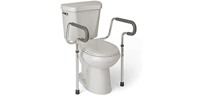 Medline's Guardian - Seniors Toilet Grab Bar