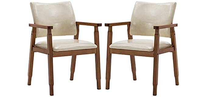 Nobpeint Mid-Century - Eating Chair with Arms for Seniors