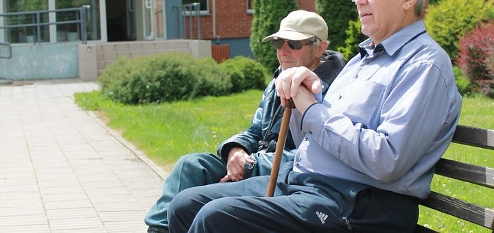 Outdoor Chair for the Elderly