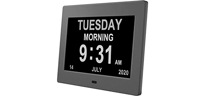Pipishell Digital - Senior's Alarm Clocks