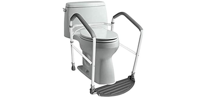 RMS Toilet Safety - Toilet Grab Bar for Seniors